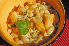 Poblano Mac 'N Cheese from @JuanitasCocina