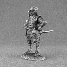 Japanese #Samurai #Action #Figure - 1/32 Scale Toy Soldiers