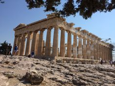 The Parthenon, Acropolis, Athens Greece