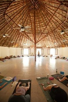Maya Tulum Retreat & Resort: Maya Tulum Yoga Class