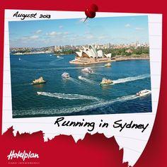 11/08/2013. Parte la maratona di Sydney. Con un numero di partecipanti che supera quello delle maratone di Londra e New York messe insieme è l'evento sportivo più amato dagli Aussi.