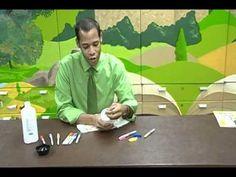 Crafty Creations #33: Crayon & Tie-Dye T-Shirt Art