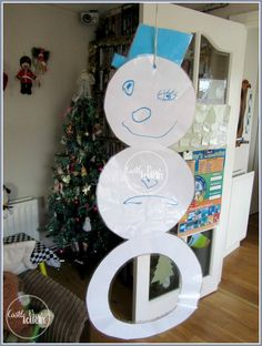 Indoor Snowball Throwing Winter activity for kids: Great for Parties or Learning! -