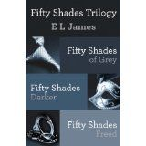 Fifty Shades Trilogy, if you going to read one you might as well read them all to cure your curiosity!