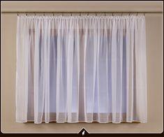 Luxusní voálová záclona VICTORIE , výška 90 až 290 cm, šířka 300 cm až 500 cm | Prodej záclon, závěsů, látek, dekorační látky, voálu, levné záclony, sleva, akce. Curtains, Home Decor, Decor
