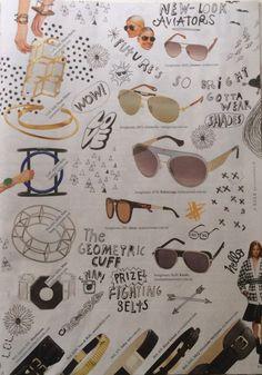 New #Balenciaga sunglasses in Elle Australia #Elleaus
