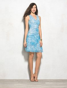 LUXE™ by Carmen Marc Valvo Abstract Dress from Dressbarn