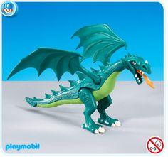 7481 Dragón verde pequeño