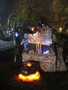 ~Trunk or treat~ Witches theme  I Won best trunk 2013