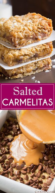 Salted Carmelitas - one of the best desserts EVER!!