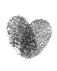 Fingerprint Heart, Black and White Love Art, Be Mine Valentine, Heart Poster Sign, Young Couple Gift Bff Tattoos, Mini Tattoos, Couple Tattoos, Love Tattoos, Unique Tattoos, Tatoos, Hart Tattoo, Black And White Heart, Black And White Posters
