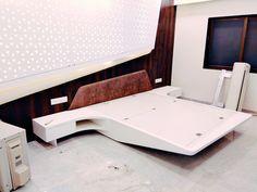 Space Saving Furniture, Bed Furniture, Furniture Design, Luxury Bedroom Design, Interior Design, Living Room Tv Unit Designs, Bed Rooms, Luxurious Bedrooms, Bed Design