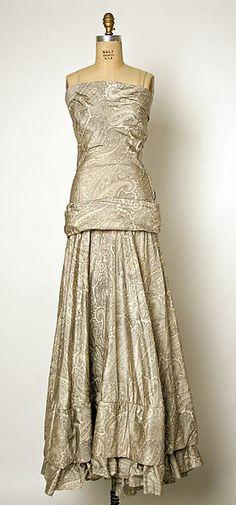 Robe de soirée Balenciaga, 1937