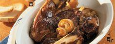 Rôti de palette de Veau de grain du Québec à l'oignon et à l'ail rôti