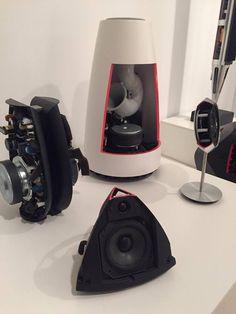 More sneak peeks inside some of our marvellous speakers. High End Headphones, Men Cave, Bang And Olufsen, Music System, Speaker Design, Piece A Vivre, Bluetooth Speakers, Loudspeaker, Denmark