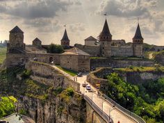 The Castle of KP  Stariy Zamok (City of Kamianets-Podilskiy, Khmelnitskiy Oblast, Ukraine) stands for Old Castle in Ukrainian. Its ansemble was forming in XII-XVIII centures.