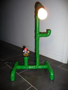 Bricolage geek perso : Lampe Mario Bros