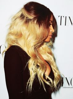 ciara- doing this hair style in a week I hope the color looks good on me