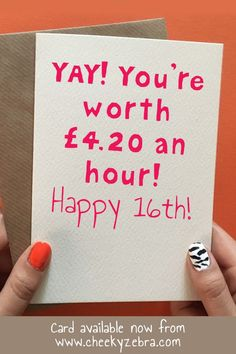 Funny 16th Birthday Card For Girls This Hilarious Is Perfect Your