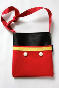 Disney autograph book bag