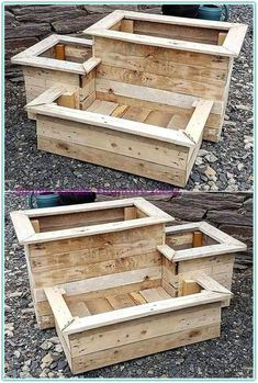 30 super cool diy reclaimed wood projects for your backyard landscape 23 Furniture Makeover DIY backyard Cool DIY landscape Projects Reclaimed Super Wood Old Wood Projects, Reclaimed Wood Projects, Easy Woodworking Projects, Diy Pallet Projects, Pallet Ideas, Woodworking Tools, Pallet Boxes, Wood Crafts, Outdoor Wood Projects