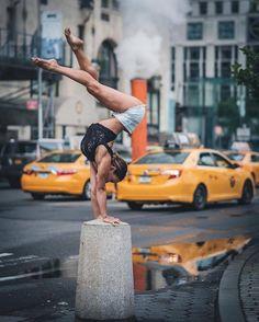 Балерины на улицах Нью-Йорка