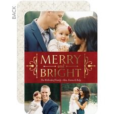 Holiday Heritage Photo Holiday Cards