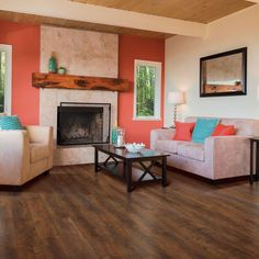 Pergo XP Cinnabar Oak 8 mm Thick x 7-1/2 in. Wide x 47-1/4 in. Length Laminate Flooring (19.63 sq. ft. / case)
