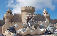 The world's largest sand castle. Corpus Christi, TX