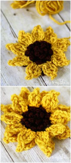 I have gathered a list of easy and awesome crochet Flower patterns for your inspiration. Check out some of your favorite crochet Flowers here and get inspiredCrochet Sunflower Pattern