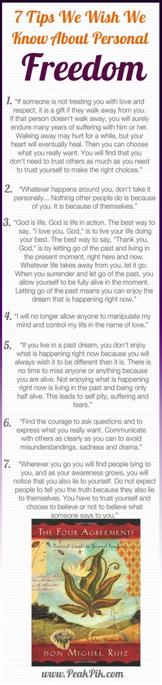Daily Tips And Motivation | The Four Agreements: A Practical Guide to Personal Freedom (A Toltec Wisdom Book)