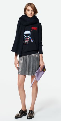 MAX&Co. SS 2016 - Sweatshirt PLATA / Dress PORTICO / Scarf ACERO / Clutch ACACIA / Shoes AFELIO
