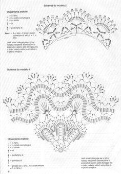 Crochet)코바늘 도일리 도안.