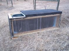 Homesteading Wife: Solar Heated Water Tank