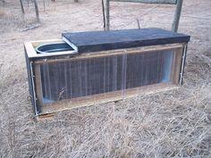 Homesteading Wife: Solar Heated Water Tank