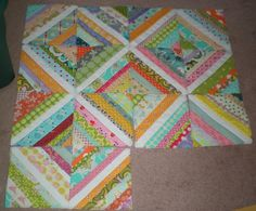 Why Not Sew?: Scrap Buster String Quilt