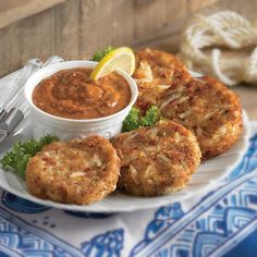 New Orleans Crab Cakes from Zatarains.com