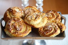 Norwegian Food, Norwegian Recipes, Yummy Cakes, Doughnut, Cake Recipes, Sweet Tooth, French Toast, Muffin, Sweets