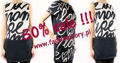 50% rabat na wybrane modele sukienek :-) http://www.fashionstory.pl/pl/c/Sukienki/35