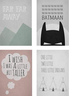 T.D.C | kids posters by WIHO Design