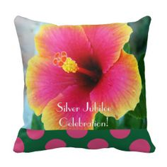 Catholic Nuns Silver Jubilee Pillow Hibiscus http://www.zazzle.com/catholic_nuns_silver_jubilee_pillow_hibiscus-189384187688233940?rf=238282136580680600*  $30.95