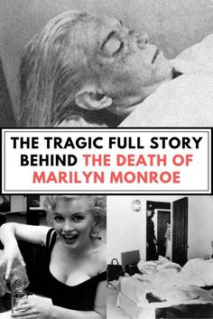 The police initially called it an accident, the coroner said it was a suicide, and conspiracy theorists say it was murder. But what is the real truth about the death of Marilyn Monroe? Marilyn Monroe Death, Marilyn Monroe Quotes, Best Butt Lifting Exercises, Black And White Couples, Girl Facts, Bonnie N Clyde, Marriage Humor, Life Pictures, Funny Babies