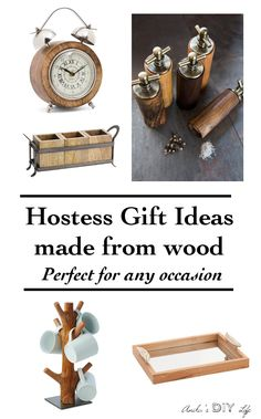 Unique Hostess gift ideas that are sure to be loved! Perfect gift for the home for Christmas or for any holiday!