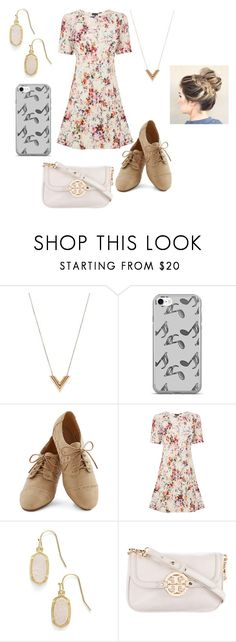 """Sophia Lodge #11"" by meghan-white2 on Polyvore featuring Louis Vuitton, Music Notes, Warehouse, Kendra Scott and Tory Burch"