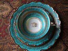 Kunst Kronach Sylvia Alka Echt Bavaria Tea Cup by TheHilltopShop, $28.00