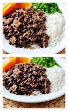 Slow Cooker Brazilian Feijoada from Mel's Kitchen Cafe [via Slow Cooker from Scratch - http://SlowCookerFromScratch.com] #SlowCooker #CrockPot