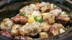 Hawaiian Meatballs | Homemade Food Junkie