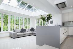 Britannic Bi-Folds install stunning aluminium lantern roofs in Hailsham, Crawley, Eastbourne, Horsham, East Grinstead, Lewes, East Sussex & West Sussex.