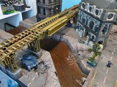 Warhammer Terrain, 40k Terrain, Game Terrain, Wargaming Terrain, Warhammer 40k, Warhammer Imperial Guard, Tabletop Games, Space Marine, Landscape Architecture