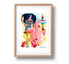 DOWNLOAD ISTANTANEO. Poster Ice Cream Baby colori di julioroberts